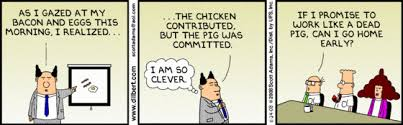 Dilbert: Pigs & Chickens